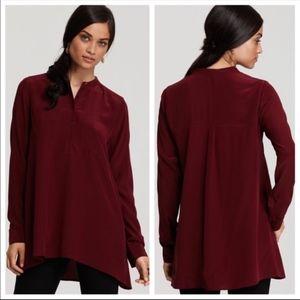 Eileen Fisher Silk Crepe de Chine Blouse Tunic XL